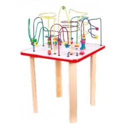 Mesa con alambres chica