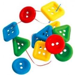 Botón geométrico